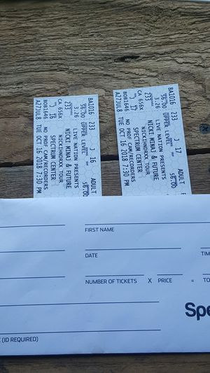 Nicki Minaj/future Tickets for Sale in Morganton, NC
