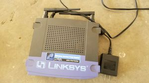 Linksys router with 4 port switch for Sale in Dallas, TX