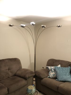 Arch Silver Floor Lamp for Sale in Rockville, MD