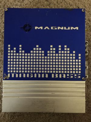 MAGNUM AMPLIFIER ( 250 WATTS ) WORKS for Sale in Commerce City, CO