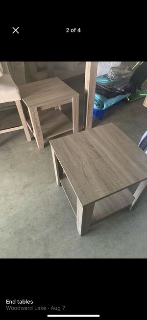 End tables for Sale in Madera, CA