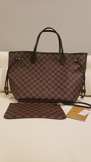 Louis Vuitton Nevefull MM Tote w/Clutch for Sale in Staten Island, NY