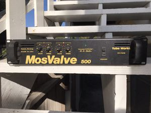 Tube Works MosValve 500 rack mount power amplifier for Sale in San Diego, CA