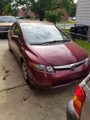 Honda civic 2007 for Sale in UNIVERSITY PA, MD