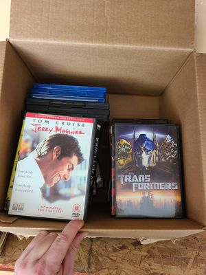 Box of dvds for Sale in Bakersfield, CA