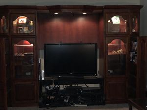 Entertainment Wall System/ TV Shelving Unit for Sale in Herndon, VA
