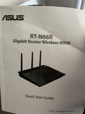 Asus RT-N66R Daul-Band Wireless-N900 for Sale in Charlotte, NC
