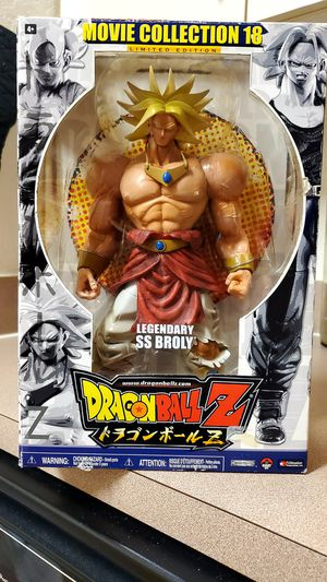 """*LIMITED EDITION* Legendary Super Saiyan Broly 9"""" Collectible Figure (Movie 18) for Sale in Riverview, FL"""