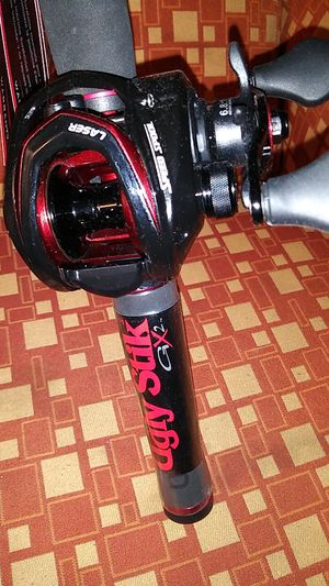 UGLY STICK poles ABU GARCIA BAIT CASTER and LEWS reels ..never fished for Sale in Vacaville, CA