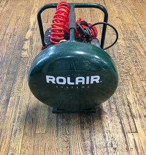 ROLAIR 2HP 4.5 GAL SINGLE STAGE AIR COMPRESSOR MODEL D2002HPV5 for Sale in Lakewood, CO