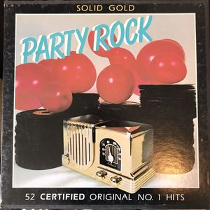 Solid Gold Party Rock 52 certified orginal no.1 hits vinyl record for Sale in Riverside, CA