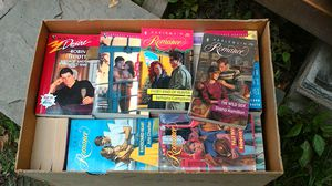 Box of Romance Books for Sale in Linden, PA
