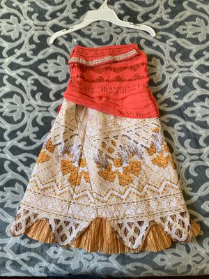Disney Moana Costume Dress for Sale in Lynwood, CA