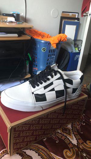 Og blk & wht Vans Leather size 12 for Sale in Escondido, CA