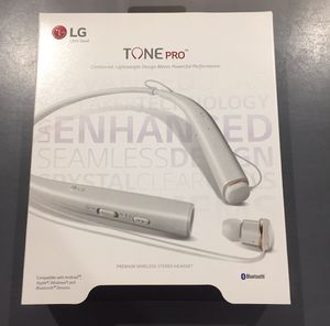 LG Tone pro wireless headphones for Sale in Queens, NY