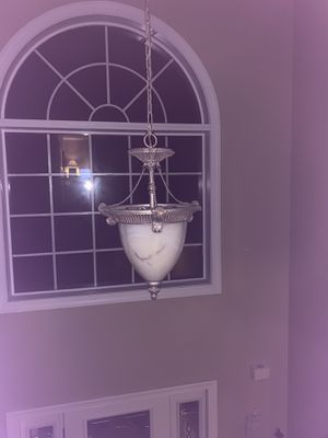 Matching chandelier and dining room light fixtures. for Sale in Cary, NC