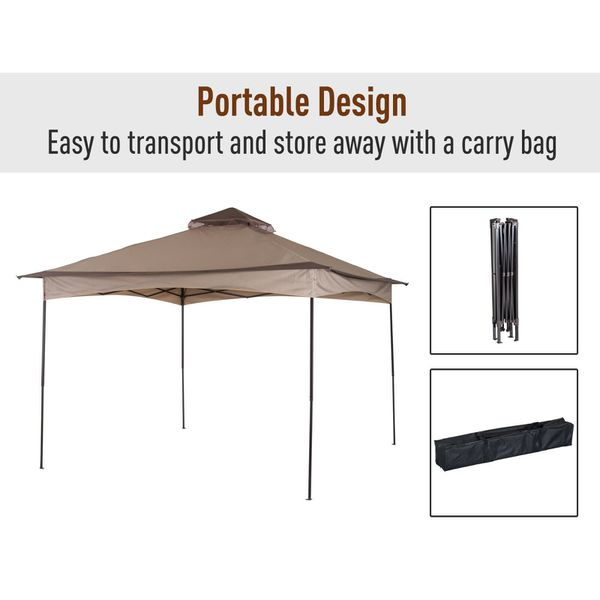 NEW Outdoor Tent with side wall windows for Wedding Party Patio Gazebo canopy Camping