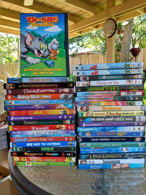 Kids family DVD's for Sale in Austin, TX