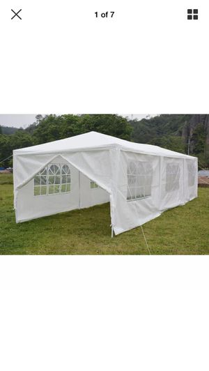 NEW in Box!!!! 10x30 Canopy Party Tent with walls for Sale in North Providence, RI