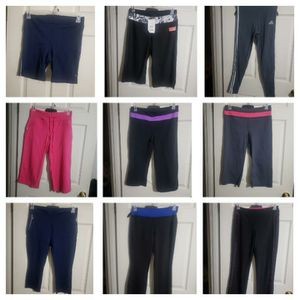 Workout clothes all medium for the lot $75 o.b.o for Sale in Goodyear, AZ