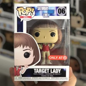 Funko Pop - TARGET LADY - Target Exclusive - SNL for Sale in Rowland Heights, CA