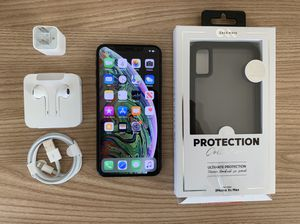 iPhone Xs Max 64GB Black Unlocked For Any Company ✅ for Sale in Harwood Heights, IL