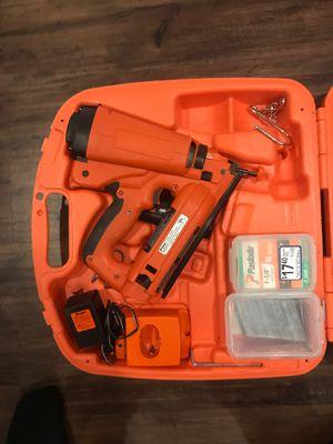 Paslode 16 GA. Finish nail gun for Sale in Triangle, VA
