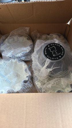 Black rhino alloy caps for Sale in Hillsboro,  OR