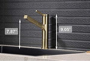 Brushed Gold Kitchen Faucet (New) for Sale in Brooklyn, NY