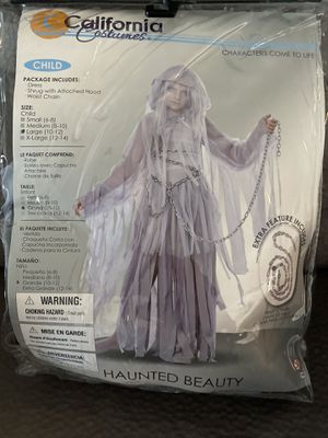 Haunted beauty ghost costume for Sale in Beaverton, OR