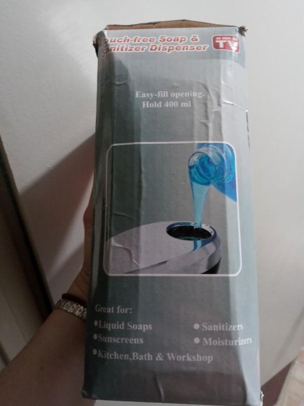 Touch-free Soap & Sanitizer Dispenser