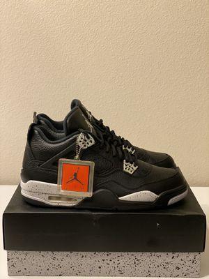 "Air Jordan 4 Retro Ls ""Oreo"" Size 12 for Sale in San Diego, CA"