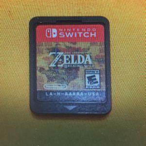 Zelda Breath Of Wild Nintendo Switch for Sale in Miami, FL