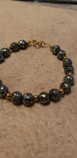 14k and mother of pearl bracelet for Sale in Baltimore, MD