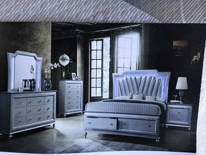 Brand new queen size bedroom set $1499.financing available no credit needed for Sale in Hialeah, FL