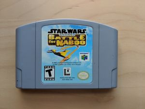Used, N64 Star Wars Battle for Naboo for Sale for sale  Garfield, NJ