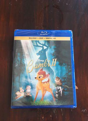 Bambi II (blu ray and digital) for Sale in Olympia, WA