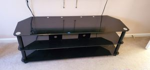 Glass TV stand for Sale in Triangle, VA