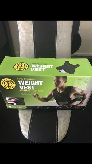 Gold's Gym Weighted Vest for Sale in Englewood, CO