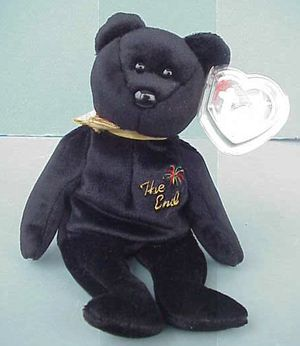 RARE Ty Beanie Baby THE END the Bear Mint with tag for Sale in Warwick, RI