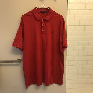 Men's XL Red Ralph Lauren Polo Shirt for Sale in Silver Spring, MD