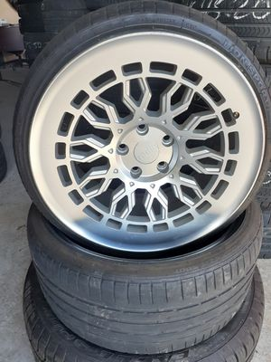 18 inch rims and tires radi8s for Sale in Lehigh Acres, FL