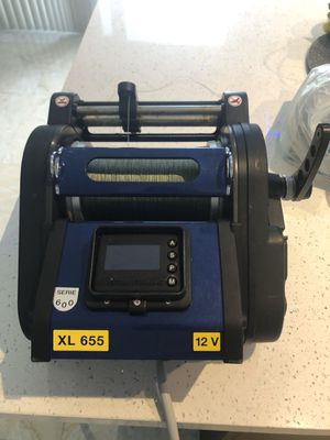 ELECTRIC REEL KRISTAL XL 655 AUTO STOP for Sale in Medley, FL