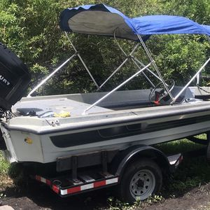 1978 Ranger 320V... bass boat 16' with 100HP Mercury 2 stroke. Premium sound system including JL Audio and MTX subwoofer. 2 electric bilge pumps funct for Sale in Fort Lauderdale, FL