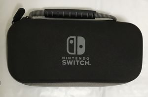 Nintendo Switch Lite system case black nice shape tough shell for Sale in Cleveland, OH