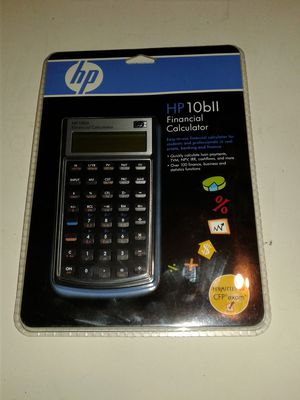 Hp financial calculater for Sale in Waltham, MA