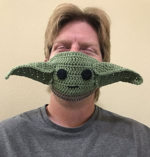 Yoda face mask with filter pocket for Sale in Menifee, CA