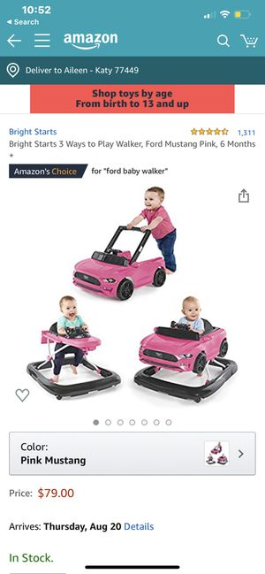 Baby walker for Sale in Katy, TX