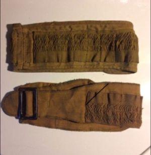 Vintage Shotgun Shell Holder belts and leather holding Case for Sale in Milnesville, PA