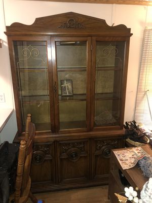 Antique China Cabinet for Sale in Wood Dale, IL